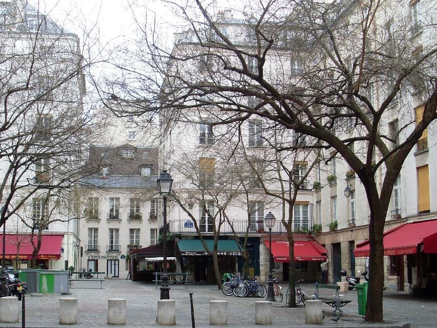 place du marche sainte catherine  paris